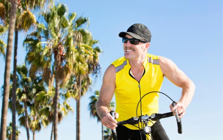 ¿Correr en bicicleta es malo para la próstata?